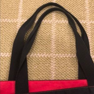 Herve Chapelier Bags - Red and Black Herve Chapelier tote